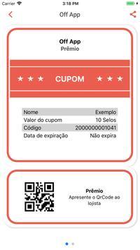 Off App - Plataforma de Fidelidade e Descontos screenshot 4