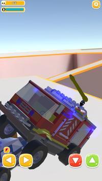 Traffic Run Toy Cars : Train taxi screenshot 4