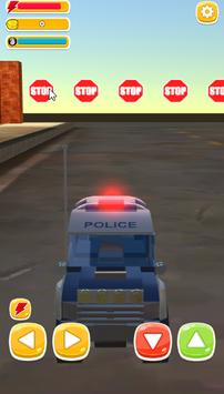 Traffic Run Toy Cars : Train taxi screenshot 7