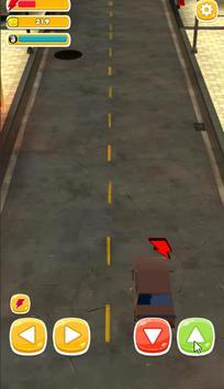 Traffic Run Toy Cars : Train taxi screenshot 2