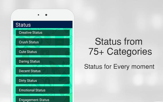 Latest Whats Status 2019 تصوير الشاشة 1