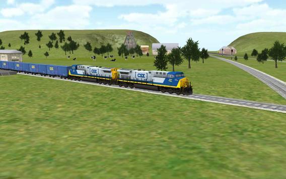 Train Sim تصوير الشاشة 4