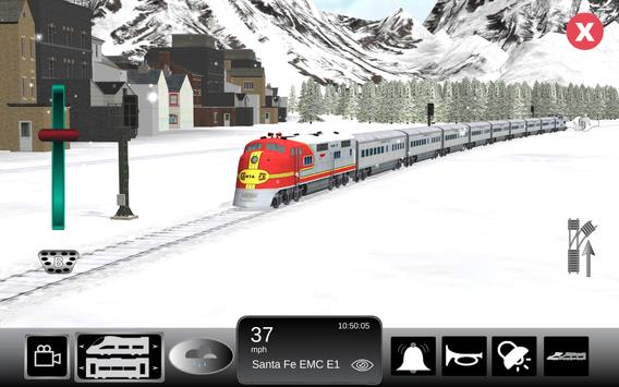 Train Sim تصوير الشاشة 7