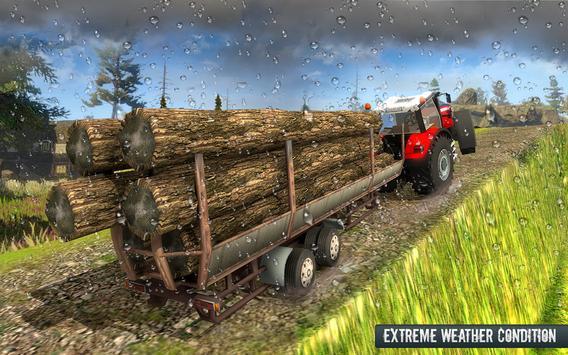 Cargo Tractor Trolley Simulator Farming Game 2019 screenshot 1