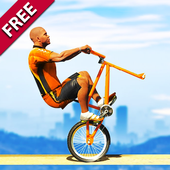 Impossible BMX Bicycle Stunts: Offroad Adventure icon