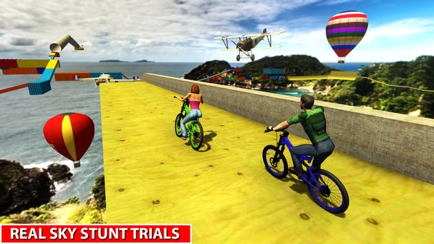 Impossible BMX Bicycle Stunts: Offroad Adventure poster