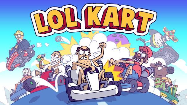 LoL Kart الملصق