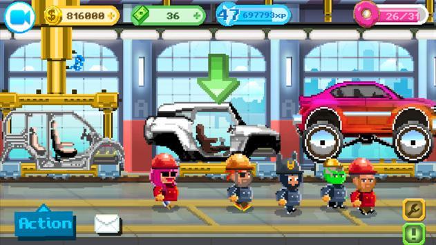 Motor World Car Factory تصوير الشاشة 12