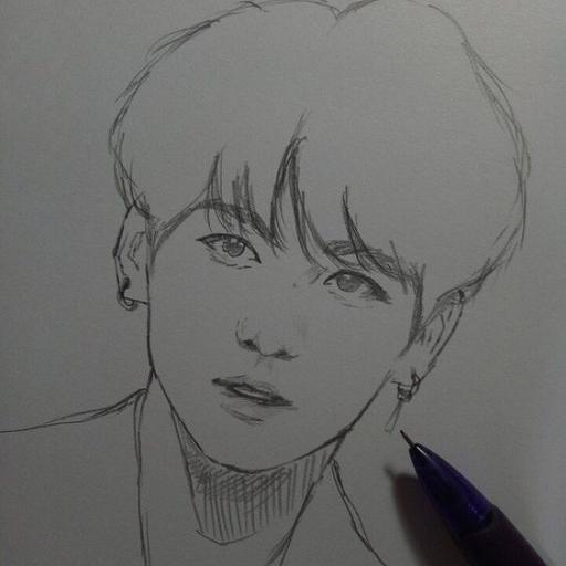 How To Draw Bts Members For Android Apk Download