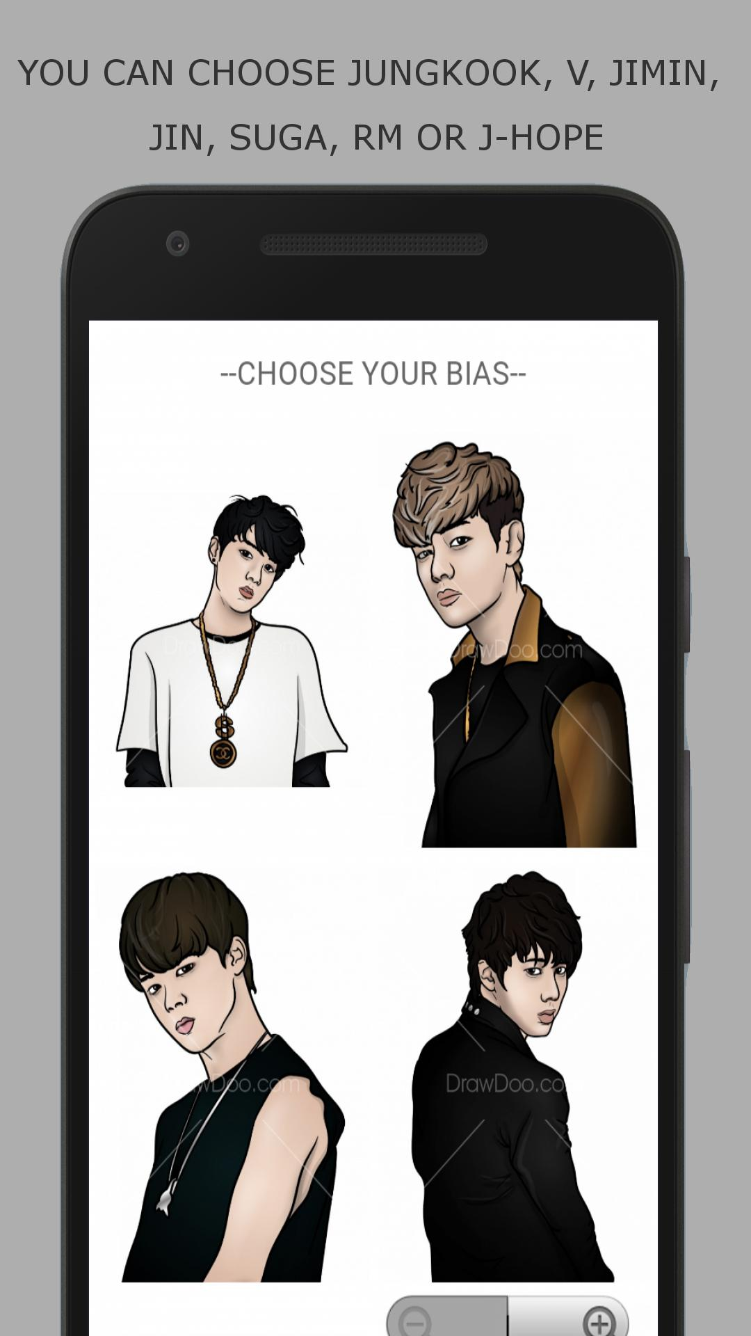 Bagaimana Menggambar Anggota BTS For Android APK Download