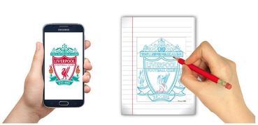 How To Draw Football Club Logo