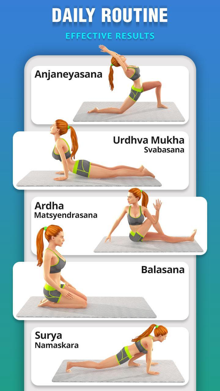 Yoga For Weight Loss Daily Yoga Workout Plan For Android Apk Download