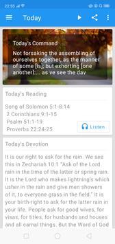 Daily Bible Devotion - Oilnwine poster