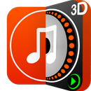 DiscDj 3D Music Player - 3D Dj Music Mixer Studio APK Android