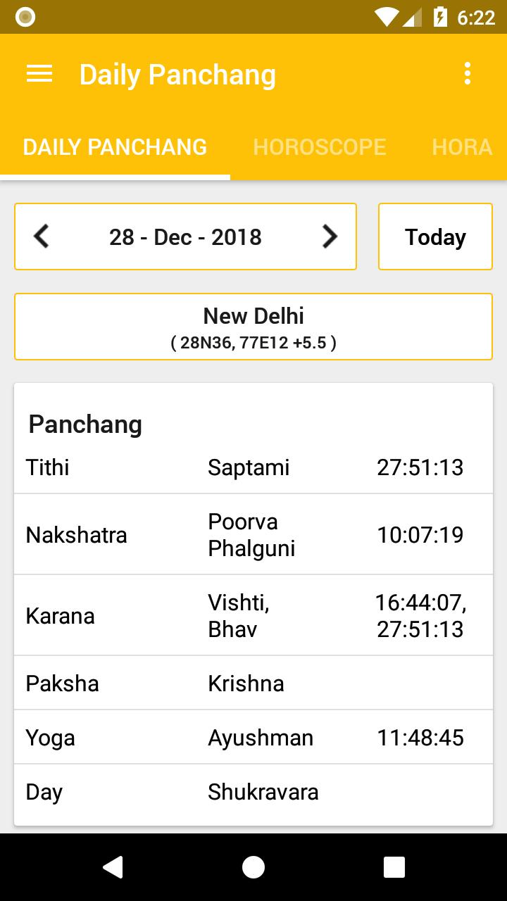 Hindu Calendar 2020 for Android - APK Download