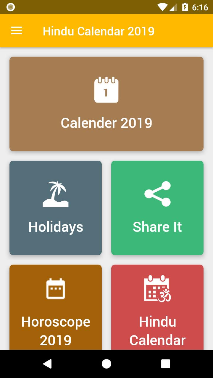 Hindu Calendar 2021 for Android - APK Download