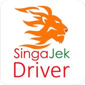 SingaJek Mitra - Aplikasi Driver Untuk Singa Jek icon