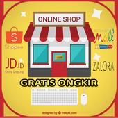 Toko Online Gratis Ongkir icon