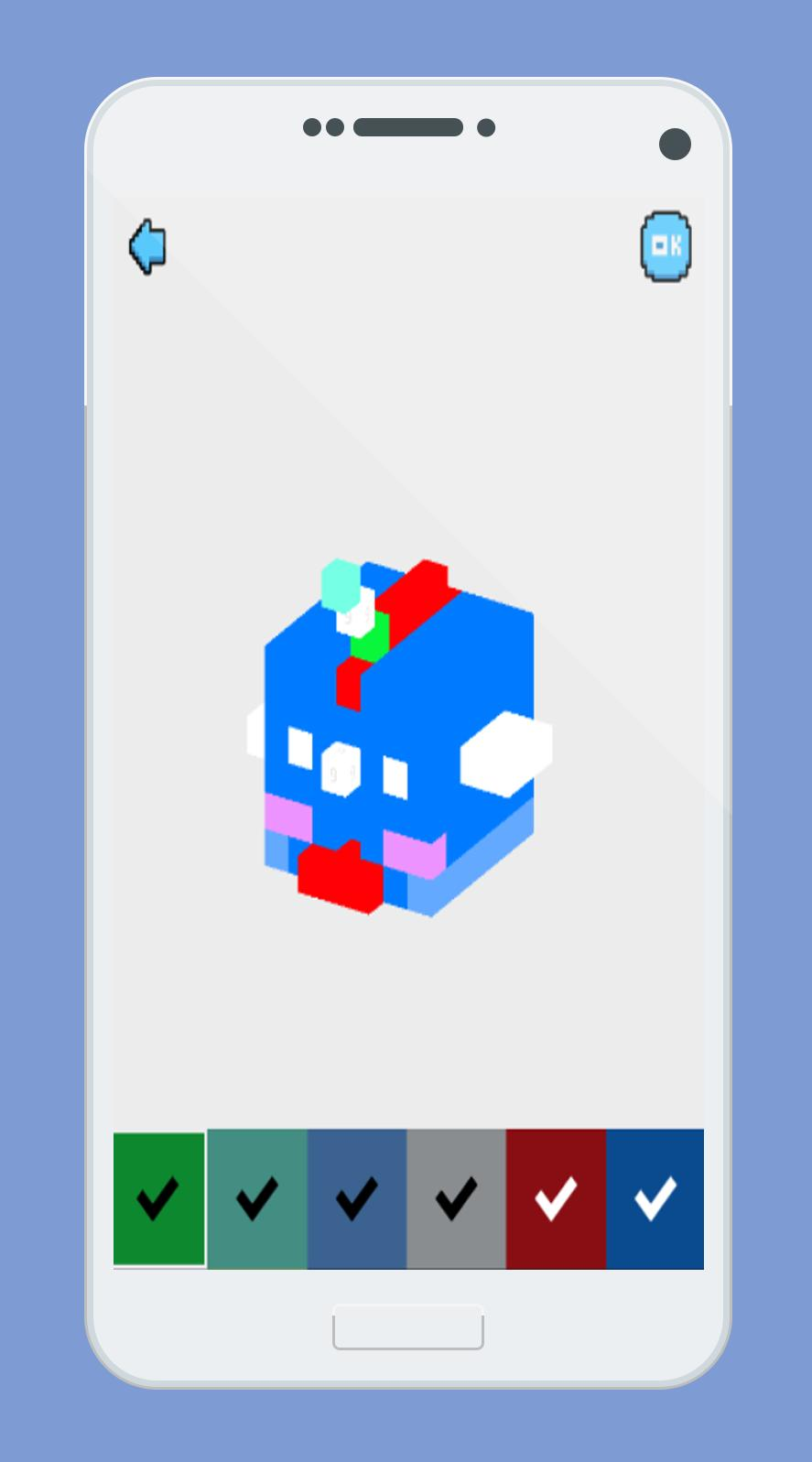 раскраска по номерам десертов персонажей пиксель для андроид