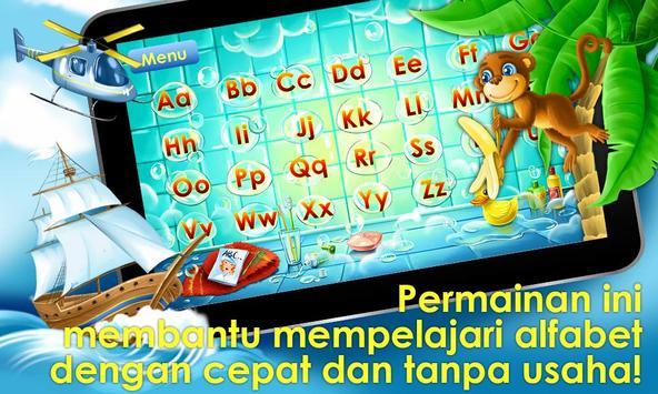 Permainan alfabet untuk anak screenshot 10