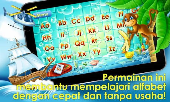 Permainan alfabet untuk anak screenshot 16