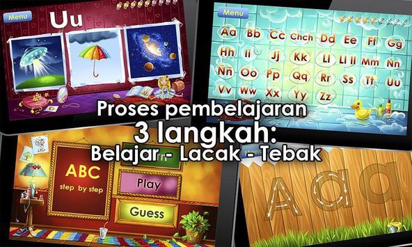 Permainan alfabet untuk anak screenshot 2