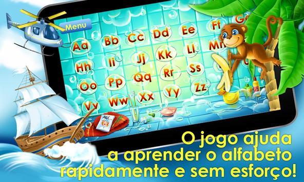 Jogo do alfabeto! Jogos alfabeto para crianças imagem de tela 10