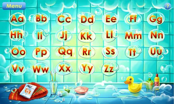 Jogo do alfabeto! Jogos alfabeto para crianças imagem de tela 1