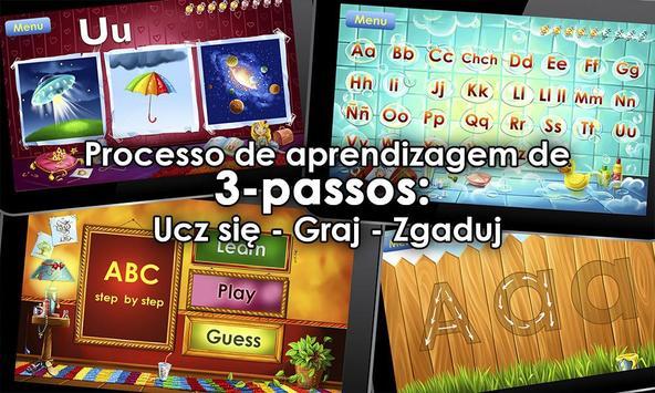 Jogo do alfabeto! Jogos alfabeto para crianças imagem de tela 8