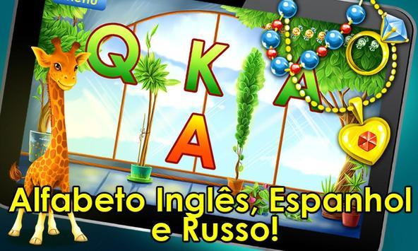 Jogo do alfabeto! Jogos alfabeto para crianças imagem de tela 9