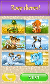 Kids babyfoon met dieren screenshot 1