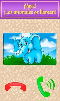 Bebé el teléfono con animales captura de pantalla 2