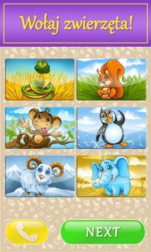 Dziecko telefon ze zwierzętami screenshot 9