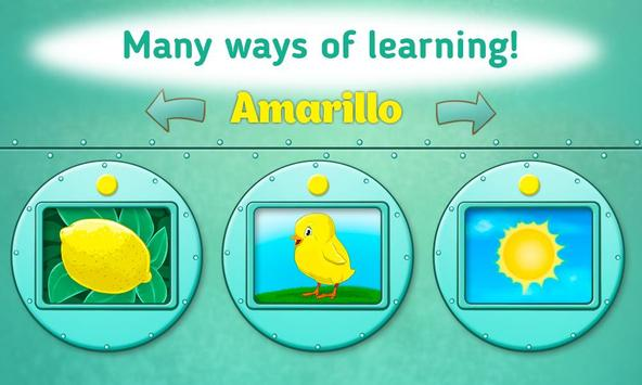 Learn Colors for Toddlers - Kids Educational Game screenshot 1