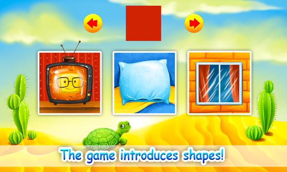 Learn Shapes for Kids, Toddlers - Educational Game poster