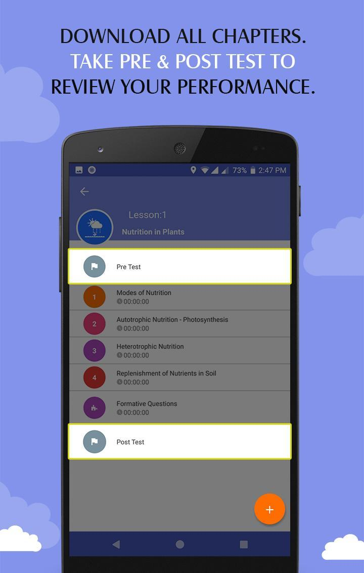 CBSE 7th Class - Science Education App for Android - APK