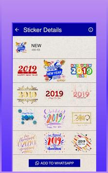 Happy New Year Stickers (WAStickerApps) poster