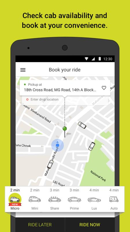 Ola Get Rides On Demand For Android Apk Download