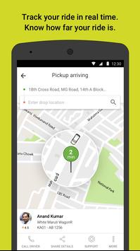 Ola cabs - Taxi, Auto, Car Rental, Share Booking स्क्रीनशॉट 2