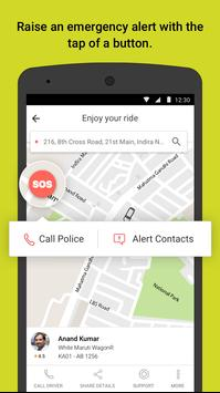 Ola cabs - Taxi, Auto, Car Rental, Share Booking स्क्रीनशॉट 3