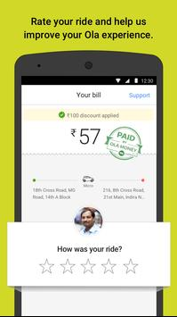 Ola cabs - Taxi, Auto, Car Rental, Share Booking स्क्रीनशॉट 4