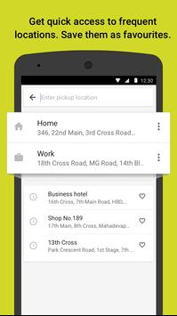 Ola. Get rides on-demand screenshot 5