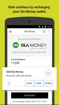 Ola cabs - Taxi, Auto, Car Rental, Share Booking स्क्रीनशॉट 6