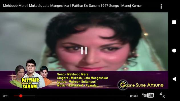 Old Hindi Video Songs Purane Gane For Android Apk Download