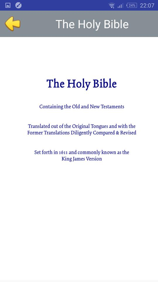 Original King James Bible Pdf