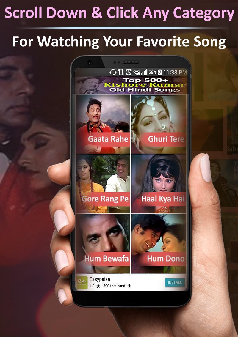 Kishore Kumar Old Hindi Songs For Android Apk Download Top 50 kishore kumar old hindi songs. apkpure com