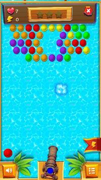 Bubble Shooter 4 - Maldives Island screenshot 7