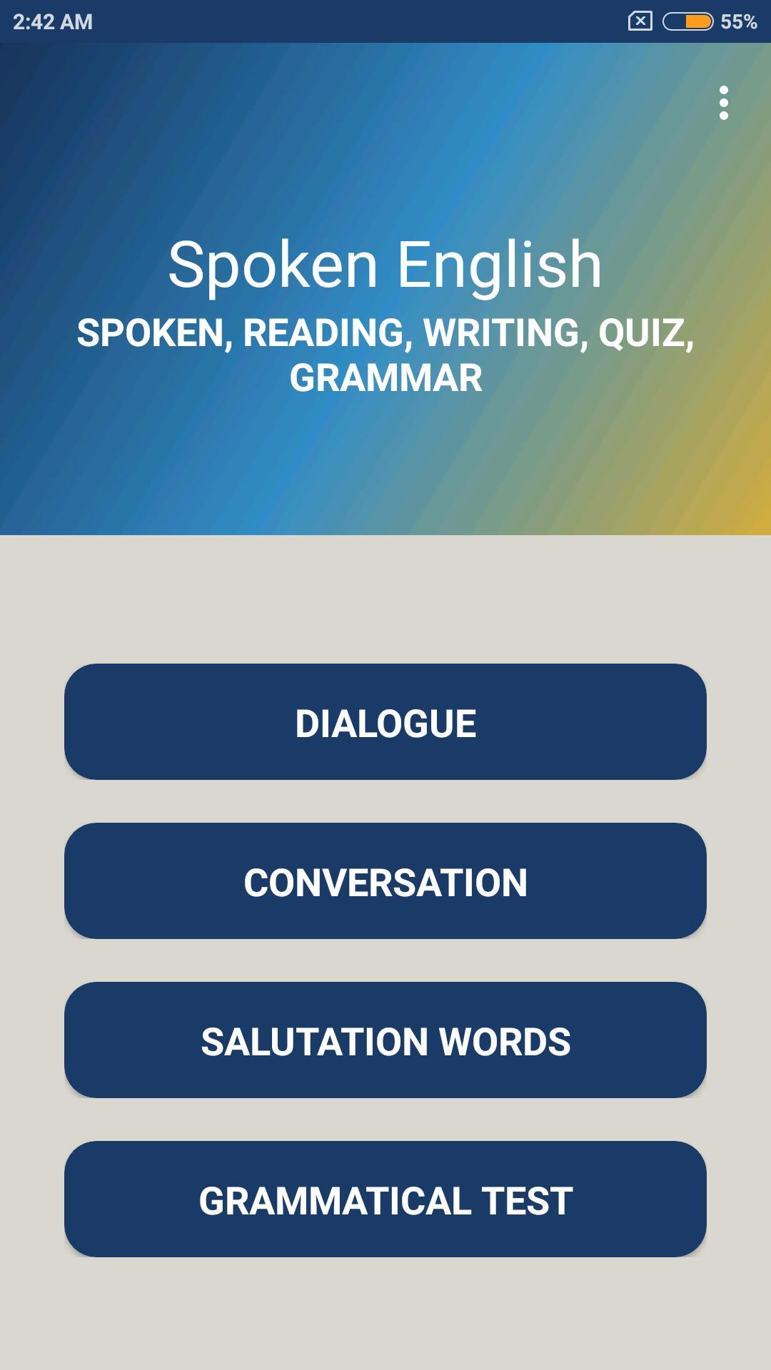 Spoken English for Android - APK Download