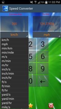 Speed Converter screenshot 1