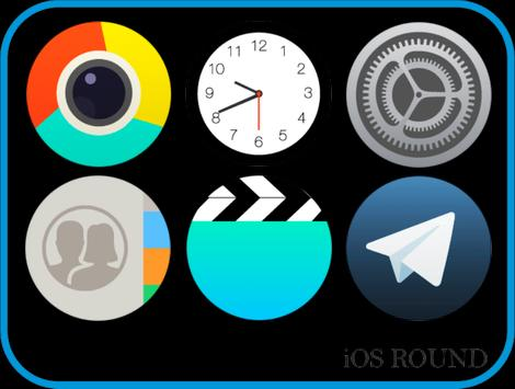 OS Round - Icon Pack poster